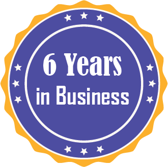 Years of Business